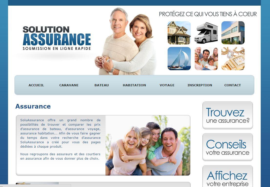 Assurance soumission en ligne