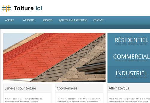 Entrepreneur couvreur de toiture
