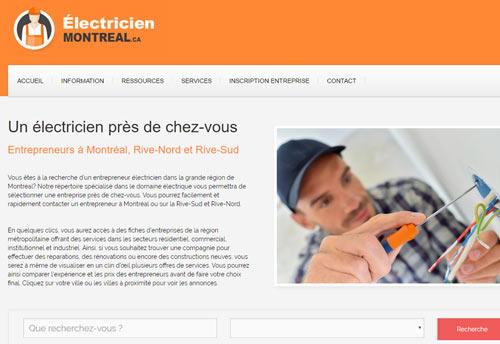 Électricien Montréal : répertoire des électriciens de Montréal