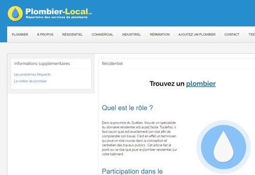 Plombier local – Entreprises de plomberie
