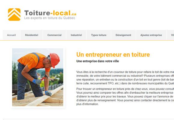Toiture Local : couvreur de toiture pour le résidentiel commercial et industriel