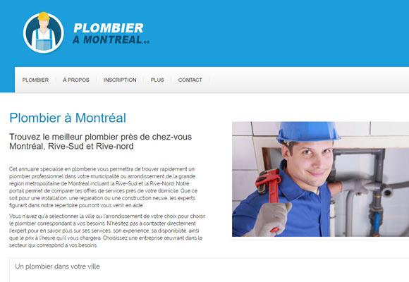 Plombier à Montréal